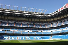Santiago Bernabeu Stadium Stock Photography