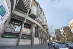 At Santiago Bernabeu Stadium royalty free stock image