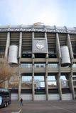 Santiago Bernabeu Stadium in Madrid, Spain. Santiago Bernabéu, a stadium of one of the best football (soccer) teams in the world - Real Madrid. It was stock photo