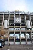 Santiago Bernabeu Stadium in Madrid, Spain Stock Photo