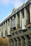 Santiago Bernabeu Stadium in Madrid, Spain Royalty Free Stock Image