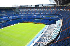 Santiago Bernabeu Stadium of Real Madrid. On August 25, 2012 in Madrid, Spain. Real Madrid C.F. was established in 1902. It is the best club of XX century stock photos