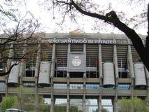 Santiago Bernabeu Stadium of Real Madrid. MADRID, SPAIN - April 20, 2012: Santiago Bernabeu Stadium of Real Madrid royalty free stock photography