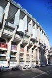 Santiago Bernabeu stadium at sunny spring day Royalty Free Stock Photos