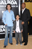 Santiago Cabrera,Noah Gray Cabey,Noah Gray-Cabey Stock Image