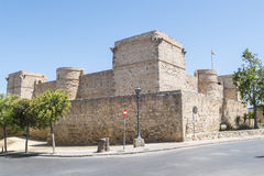 Santiago Castle of Sanlucar de Barrameda, Cadiz, Spain Royalty Free Stock Image