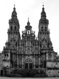 The Santiago Cathedral Stock Image