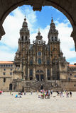 Santiago Cathedral Royalty Free Stock Photography