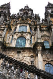 Santiago cathedral Royalty Free Stock Photo