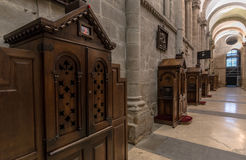Santiago Cathedral Confessional Stock Photography