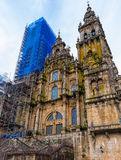 Santiago Cathedral Facade Stock Photos