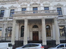 Santiago - Chile. Academia diplomatica de chile - Santiago, Chile - Historical Centerl Stock Images