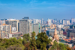 Santiago, Chile Buildings Royalty Free Stock Photography