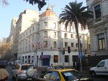 Santiago - Chile. Hotel Espanha - Santiago, Chile - Historical Centerl Stock Photography