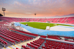 Santiago Chile National Stadium. In the afternoon stock photo