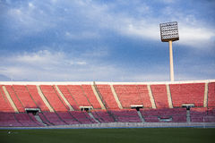 Santiago Chile National Stadium. In the afternoon stock images