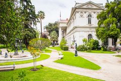 Architecture of Santiago de Chile Stock Image