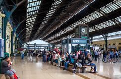 Central railway station Estacion Central in Santiago, Chile Royalty Free Stock Images