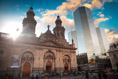Santiago, Chile. Plaza de las Armas square in Santiago, Chile Stock Images