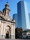 Santiago, Chili Stock Foto's
