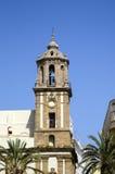 Santiago Church Cadiz Spain Royalty Free Stock Image