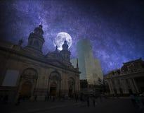 Santiago, Cile fotografie stock libere da diritti