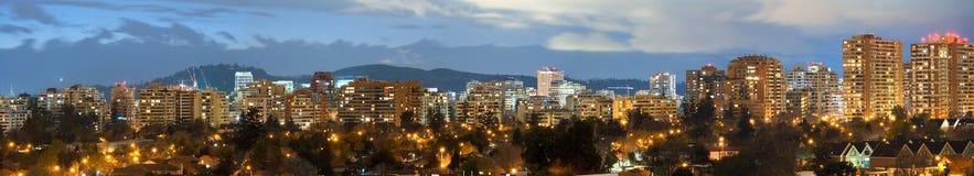 Santiago, Cile Fotografia Stock