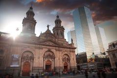 Santiago, Cile immagine stock libera da diritti