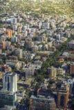 Santiago, Cile fotografia stock libera da diritti