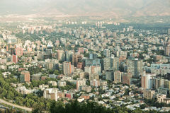 Santiago city Stock Photography