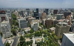 Santiago City Center - Chile Lizenzfreie Stockfotos