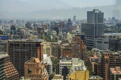 Santiago City Center - Chile Lizenzfreies Stockbild
