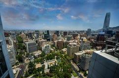 Santiago City Center - Chile Stockbild
