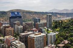 Santiago City Center - Chile Stockfotos