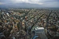 Santiago City Center - Chile Lizenzfreie Stockfotografie