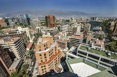 Santiago City Center - Chile Lizenzfreie Stockbilder