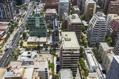 Santiago City Center - le Chili Image libre de droits