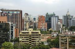 Santiago City Center - le Chili Photos libres de droits