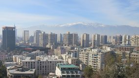Santiago City Chile Photo libre de droits