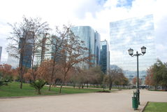 Santiago city in Chile Royalty Free Stock Photo