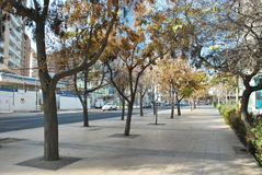 Santiago city in Chile Stock Photography