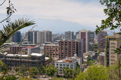 Santiago cityscape Royalty Free Stock Images