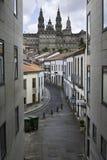 Santiago Compostel en Galicia, España Imagenes de archivo