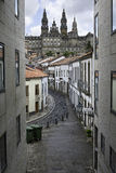 Santiago Compostel in Galicia, Spain Stock Images