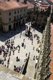Santiago Compostela Royalty Free Stock Photo