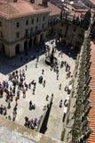 Santiago Compostela Fotografia Stock Libera da Diritti