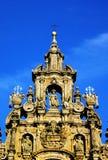Santiago compostela cathedral. Detail Santiago compostela cathedral tower, galicia spain Stock Image