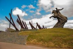 SANTIAGO, CUBA : Antonio Maceo Monument en Santiago de Cuba Le Général Maceo était un chef célèbre de l'indépendance de guériller Photo libre de droits