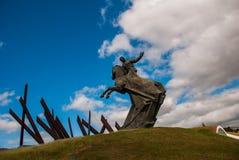 SANTIAGO, CUBA : Antonio Maceo Monument en Santiago de Cuba Le Général Maceo était un chef célèbre de l'indépendance de guériller Photos libres de droits