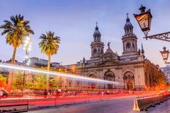Santiago de Chile, Chile Arkivbilder